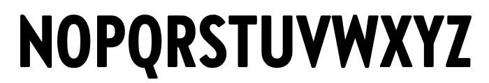 Brandon Grotesque Condensed Black Font UPPERCASE