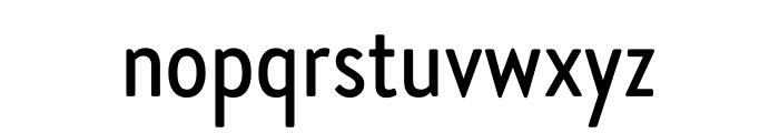 Brandon Grotesque Condensed Medium Font LOWERCASE