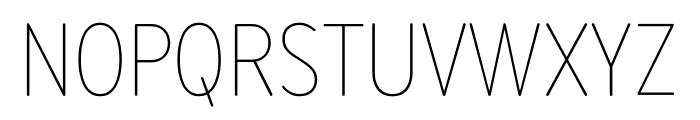 Bryant Compressed Light Font UPPERCASE
