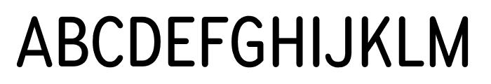 Bryant Compressed Medium Font UPPERCASE