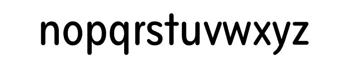 Bryant Compressed Medium Font LOWERCASE