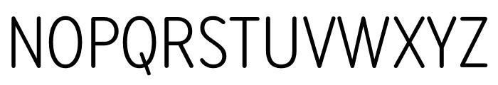 Bryant Compressed Regular Font UPPERCASE