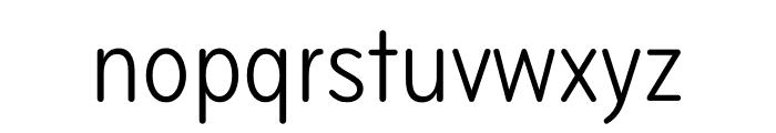 Bryant Compressed Regular Font LOWERCASE