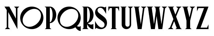 Canopee Regular Font UPPERCASE