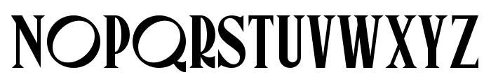 Canopee Regular Font LOWERCASE