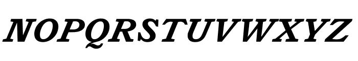 Catalogue Bold Italic Font UPPERCASE
