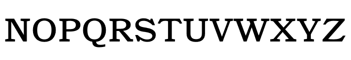 Catalogue Regular Font UPPERCASE