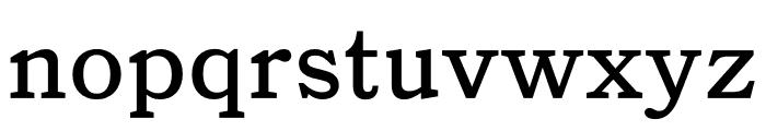 Catalogue Regular Font LOWERCASE