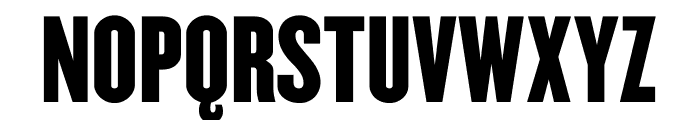Champion Gothic Lightweight Font UPPERCASE