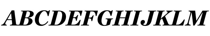 Chronicle Deck Black Italic Font UPPERCASE