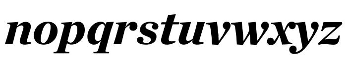 Chronicle Deck Black Italic Font LOWERCASE
