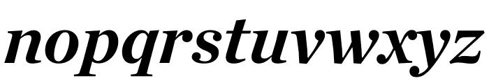 Chronicle Deck Bold Italic Font LOWERCASE