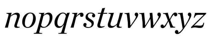 Chronicle Deck Italic Font LOWERCASE