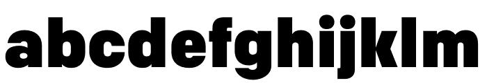 Colfax Black Font LOWERCASE