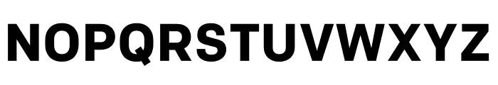 Colfax Bold Font UPPERCASE