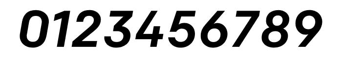 Colfax Medium Italic Font OTHER CHARS