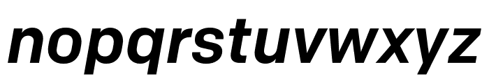 Colfax Medium Italic Font LOWERCASE