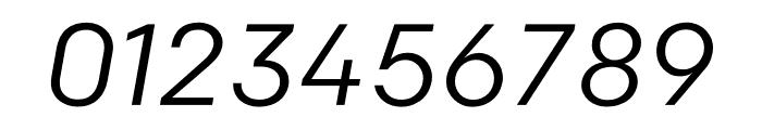 Colfax Regular Italic Font OTHER CHARS