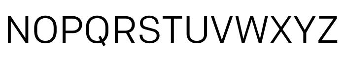 Colfax Regular Font UPPERCASE