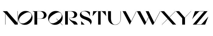 Cosi Azure Black Font UPPERCASE