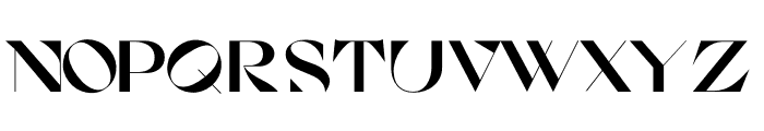 Cosi Azure Black Font LOWERCASE