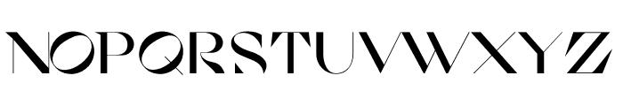 Cosi Azure Bold Font UPPERCASE