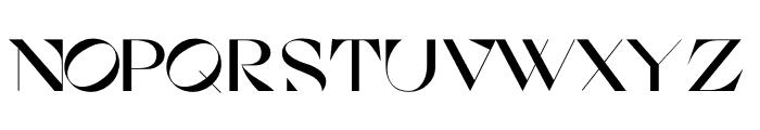 Cosi Azure Bold Font LOWERCASE