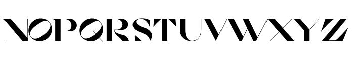 Cosi Azure Ultra Font UPPERCASE