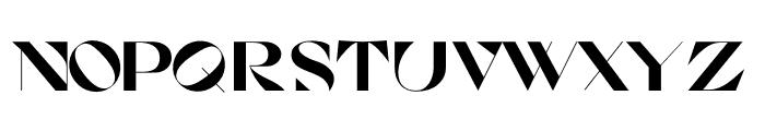 Cosi Azure Ultra Font LOWERCASE