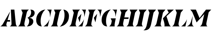 Couteau Normal Font UPPERCASE