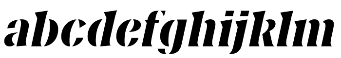Couteau Normal Font LOWERCASE