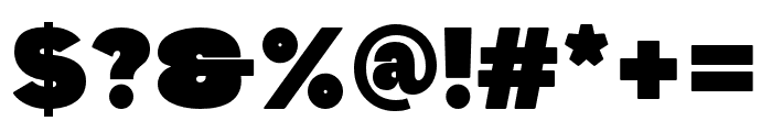 Dida Regular Font OTHER CHARS