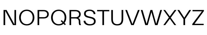 Ekstra Light Font UPPERCASE