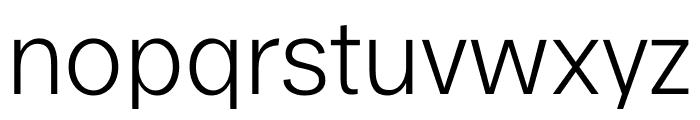 Ekstra Light Font LOWERCASE