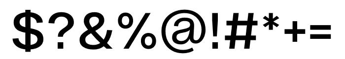 Ekstra Medium Font OTHER CHARS