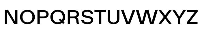 Ekstra Medium Font UPPERCASE
