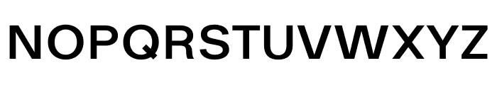 Ekstra Semi Bold Font UPPERCASE
