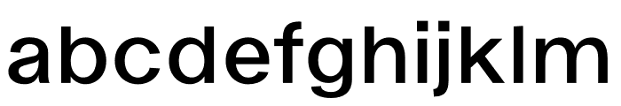 Ekstra Semi Bold Font LOWERCASE