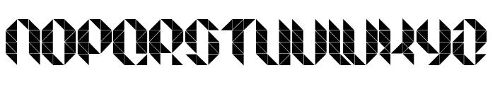 Facet Ultra Regular Font UPPERCASE