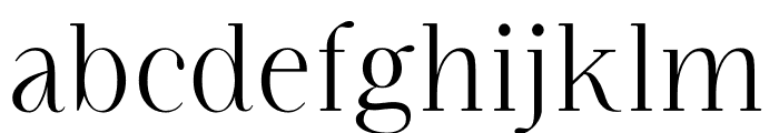 Figue Regular Font LOWERCASE
