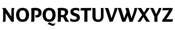 Fresco Informal Bold Font UPPERCASE