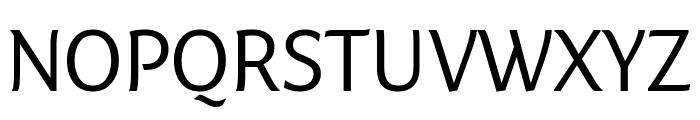 Fresco Informal Normal Font UPPERCASE