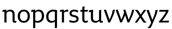 Fresco Informal Normal Font LOWERCASE