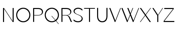 George Neue Display Regular Font UPPERCASE