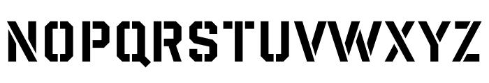 Giant Background Font UPPERCASE