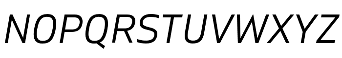 Gilam Book Italic Font UPPERCASE