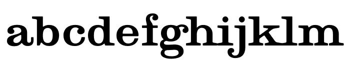 Golden Age Restored Font LOWERCASE