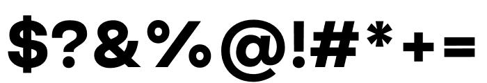 Good Sans Black Font OTHER CHARS