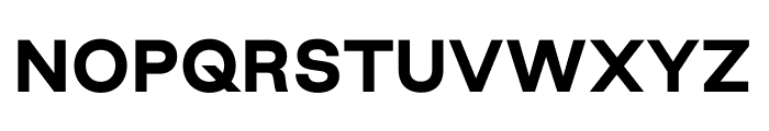 Good Sans Black Font UPPERCASE