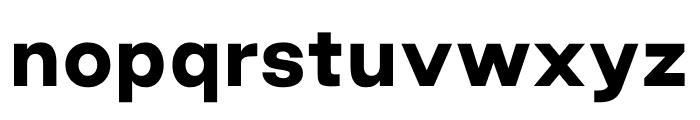 Good Sans Black Font LOWERCASE